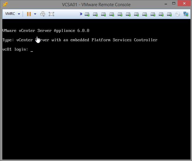 Enable SSH on vCenter Server Appliance 6 (VCSA) | blog