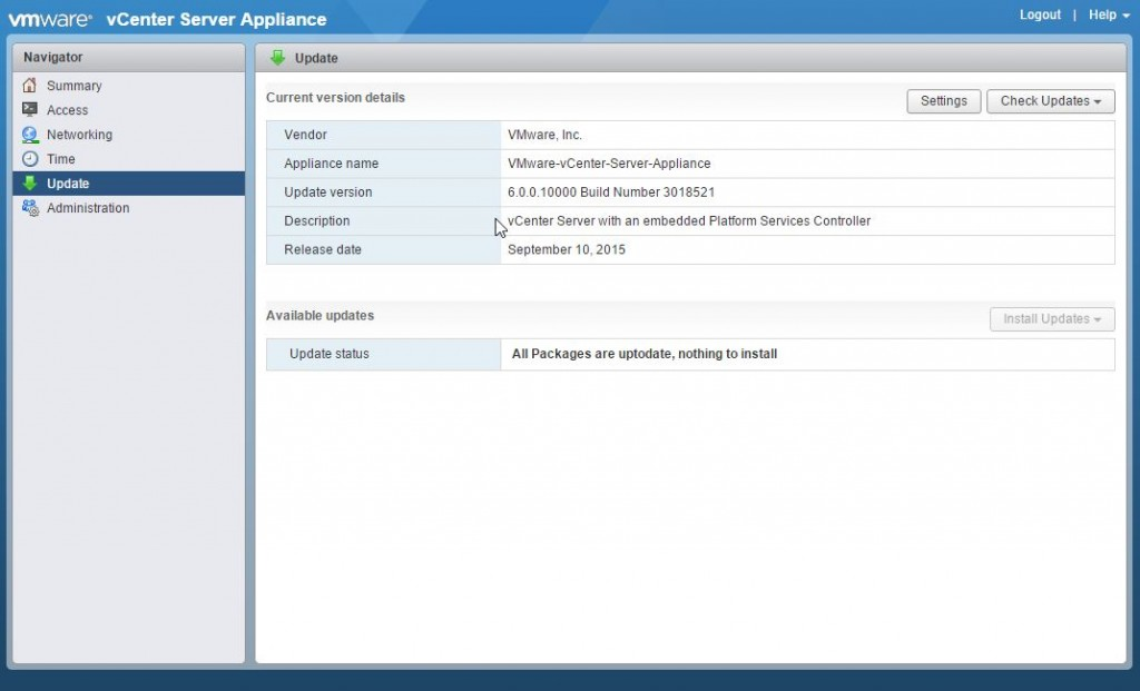 VMware Appliance Management-000241