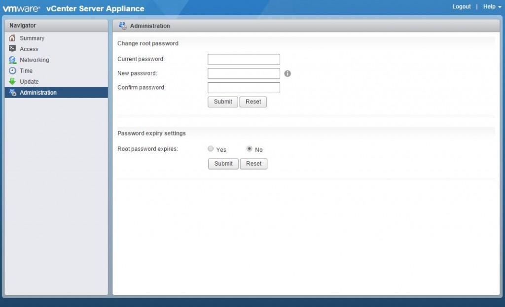 VMware Appliance Management-000242