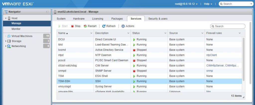 Configuring ESXi prerequisites for Packer | blog ukotic net
